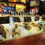 OYSTERS ON ICE AT SIM'S