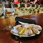 OYSTERS AT SIM'S CORNER