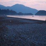 Cirali beach from Bellerofon