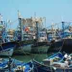 Bateau de pêche Essaouira
