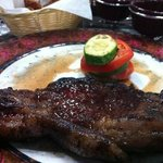steak at the steakhouse