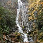 Falls located 5 minute drive from campground