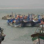 Entrée du port d'Essaouira