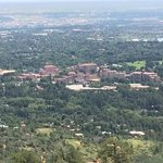 Broadmoor from a hike about 1000 feet above