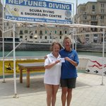 Passed my Open Water Diver Course with Franca