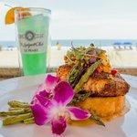 Enjoy fine dining oceanside