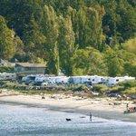 View of the Weir's Beach RV Resort - Ocean sites