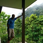 front porch overlooks cloud forest
