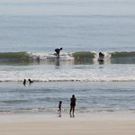 waves for surfers and boogie boards
