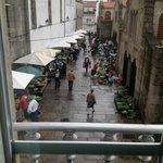 il mercato visto dalla mia stanza