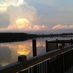 Vista de frete para o lago