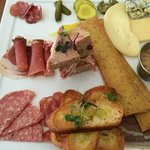 The Charcuterie plate