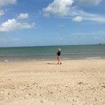Knoll Beach in August! Plenty of room :-)