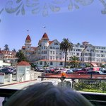 Hotel Del Coronado see during our trolley tour from Old Town