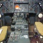 Concorde cock pit