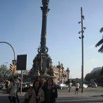Statua di Cristoforo Colombo.