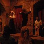 Uno spettacolo di Flamenco.