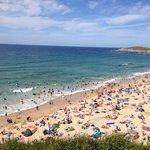 Sunny beach day Summer 2014