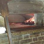hot coal oven