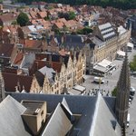 Ieper from the roof of the museum