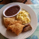 NOTHING SAYS Good Morning like A Traditional Belize Breakfast. Yummy! I
