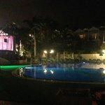 night entertainment/ pool