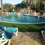 smaller pool/ water sports pool