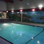 zwembad en hot tube