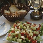 our recreation of a Greek salad