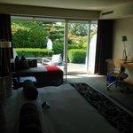 Inside my Garden suite