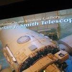 Inside the telescope entry.