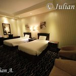double bed separate in room