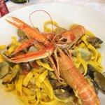 Фетучинни с морепродуктами