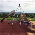 One of the outdoor playgrounds
