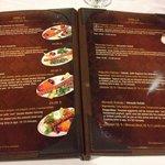 Vasta scelta di kebap in menu