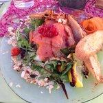 Salade hibiscus
