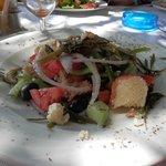 Food at restarunt on Kos Town