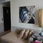 art in the deluxe room