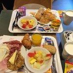 Petit déjeuner prit à l'Ibis de Bilbao