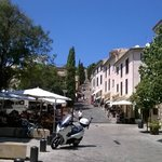 Historic Pollenca streets.
