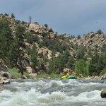 whitewater rafting on arkansas river
