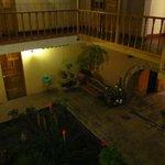 Vista desde un cuarto del segundo patio, segundo piso.