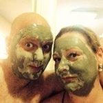 Turkish bath! Thanks Mehmet and Big John!