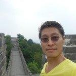 great wall in Mutianyu Beijing China