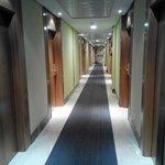 pasillo en los pisos