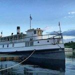 Steamship Katahdin at dock