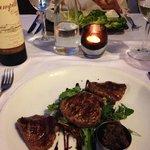 fillet steak salad special starter