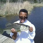 Wowee! Little guy with a Big Bass!