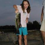 A Heavy Bass for a Little Girl!