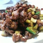 Hot and spicy diced chicken